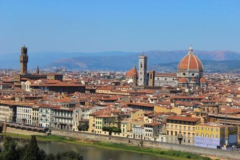 Vista de Florença-Fonte: Arquivo pessoal